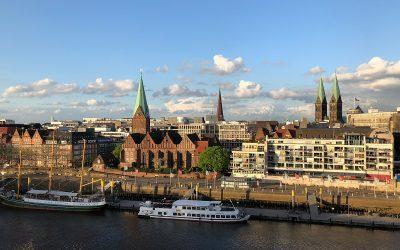 Feierabend-Instawalk: Abheben in Bremen