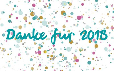 Danke 2018: Unser CHARAKTER.STÜCK Jahresrückblick
