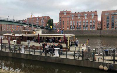 Feierabend-Instawalk: Bremen am Wasser