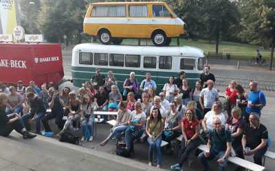 Feierabend-Instawalk meets Klubreise: Tier gewinnt