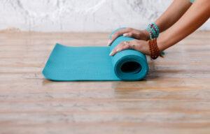 Yogamatte Fastenwoche Simone Moeller bremen
